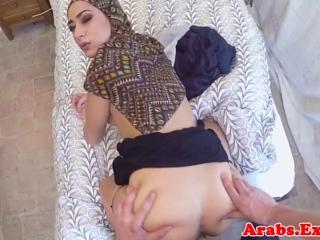 арабское порно в рот